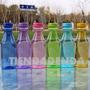 Botella Plástico Color 650ml C/correa Bpa Free *tiendadenda*