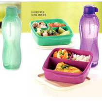 Set Viandas + Botella Ecotwist Tupperware Zona Norte Gba