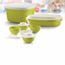 Set Línea Actualité Verde Tupperware