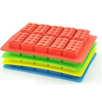 Cubetera Bloques Rasti Lego, Moldes Chocolate