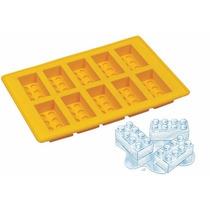 Hielera Silicona Molde P Chocolate Lego Rasti Ladrillos