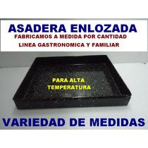 Asadera Panaderia Latera 40x50x5 Chapa Enlozada P Horno