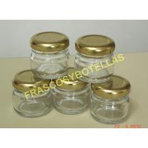 Frascos-envases Vidrio 28 Cc Con Tapa X Pack De 15 Unidades