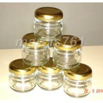 Frascos-envases Vidrio 28 Cc Con Tapa X 40 Unidades