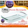 Fuente Rectangular Libbey Apto Para Horno-icroondas-freezer