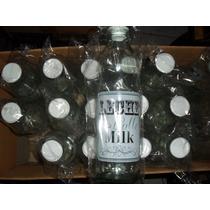 Botella De Vidrio, Con Tapon,jugo,leche,agua, Al Por Mayor !