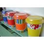 Tazas Mug Termicas De Ceramica Tapa Silicona *tienda Denda*