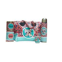 Set Matero De Diseño Con Bolso Shopping Bag