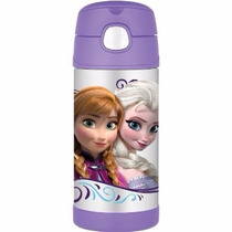 Termo Infantil Con Bombilla, Frozen Original Marca Thermo