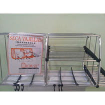 Secaplatos De Cocina Alumino Inoxidable 65x30x24