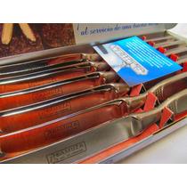 Mepai Cubiertos Gamuza Cuchillo De Mesa 6 Unidades Ga125003
