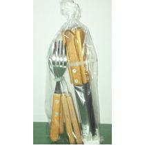 6 Seis Unidades Set Cubiertos Tramontina Tenedores Cuchillos