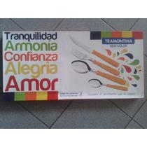Juego De Cubiertos Tramontina New Colors 24 Pzas