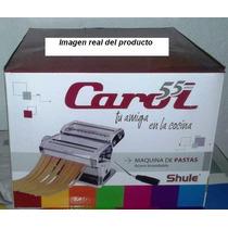 Maquina De Pastas Shule Carol Acero Inox. Envio Gratis Caba