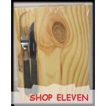 32 Tablas Para Asador + Dos Cubiertos Shop Eleven Art 60381