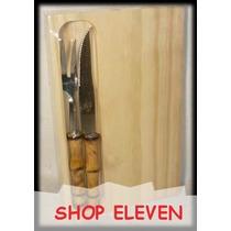 16 Tablas Para Asador + Dos Trinchante Shop Eleven Art 60383