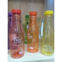 64 Botellas De Acrilico Con Tapa Varios Colores Shop Eleven