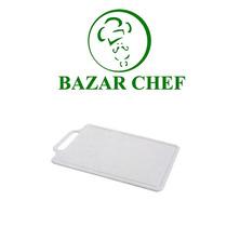 Tabla Picar Polipropileno 35 X 50 X 1 Blanca - Bazar Chef