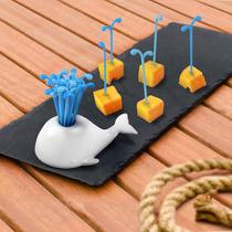 Pinches Palillero Picadas Fruta Copetinero Ballena Moby Dick