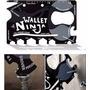 Tarjeta Ninja Wallet 18 Funciones En 1 Acero Inox Irrompible