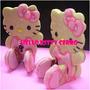 Moldes Cortantes Para Galletitas 3 D Hello Kitty Importados