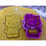 Cortante Hello Kitty Para Galletitas Fondant Cutter Moldes