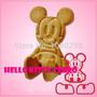 Moldes Cortantes Para Galletitas 3 D Mickey Importados