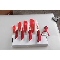Set Cuchillos Ceramicos De 5 Piezas