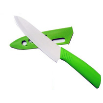 Cuchillo Ceramico 28cm Funda Vaina Antibacterial Super Filo