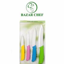 Cuchillos De Cerámica Set X4 - Bazar Chef
