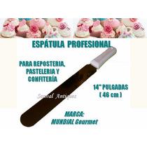 Espátula Profesional Pastelera Repostera Torta Pan 14