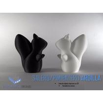 Salero Pimientero Ardillas Moderno 3d Articulos Para Cocina