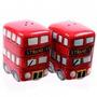 Salero Y Pimentero Autobuses! Super Original! Ceramica!