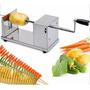 Maquina Cortadora De Verduras En Espiral Novedad Espirapapas