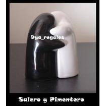 Salero Pimentero Abrazo Souvenirs Dya Regalos Día Del Amigo