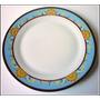 Platos Playos Porcelana Modelo Versace Usados Impecables