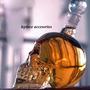 Botella Licor Calavera + 2 Shot Regalo Geek Dark Gotico