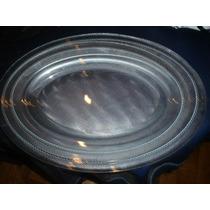 Set 2 Fuentes P/horno-microondas Vidrio Reforzado Envios