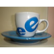 Set 4 Tazas Y Platos Te Cafe Ceramica Envios ( 5 Color)
