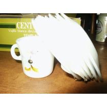 Antiguo Juego Completo En Caja P/cafe Centuria 6 Personas