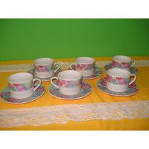 Juego De Cafe Ceramica China