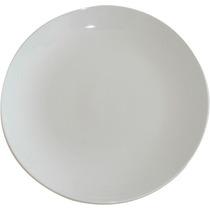 Plato De Porcelana 21 Cm X 12 Unidades Extra Blanco