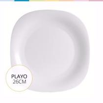 Plato Playo Blanco Luminarc 26,5 Cm Levysbazar