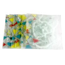 Platos Vitrofusión 21x21 27x27 12x12 18x18 Vidrio Diseño