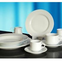 Mejor Precio Platos Playos Tsuji 1150 Blanca Porcelana Ss