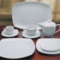 Oferta!!playo+postre+hondo Porcelana Tsuji 2400 Ss X 24