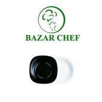 Luminarc - Carine Plato Hondo Negro - Bazar Chef