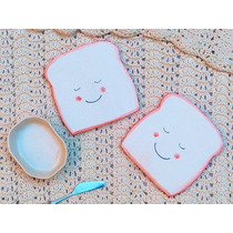Platos Ceramica Tostadas Con Sonrisa