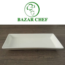 Plato Rectangular 24 X 12 Cm - Bazar Chef