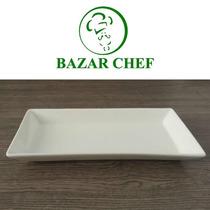 Plato Rectangular 24 X 12 Cm - Bazar Chef